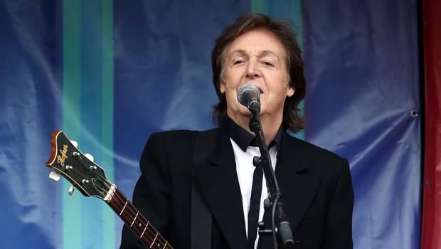 Sir Paul McCartney has revealed his passion for songwriting remains undimmed (Steve Parsons/PA)
