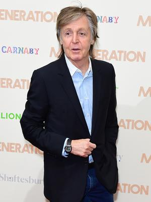 Sir Paul McCartney has revealed he still has a passion for songwriting (Ian West/PA)