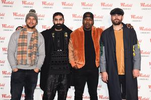 Rudimental – Kesi Dryden, Amir Amor, DJ Locksmith, Piers Agget – pictured at an event in 2018 (PA)