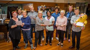 Gareth Malone's All Star Choir for Children in Need has gone straight in at number one.