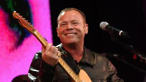 Ali Campbell and UB40 have released Lean On Me as a charity single in aid of the NHS (PA)