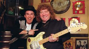 The death of Steve Priest (right) was announced on Thursday (Peter Jordan/PA)