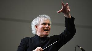 Sir Simon Rattle has warned that orchestras 'may not survive' without 'clarity' from the Government (Doug Peters/PA)