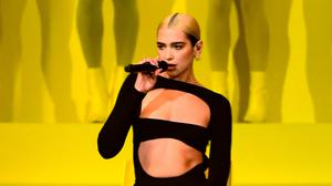 Dua Lipa has recorded a song with Miley Cyrus (Ian West/PA)