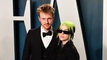 Finneas O'Connell and Billie Eilish wrote the theme song for No Time To Die (Ian West/PA)