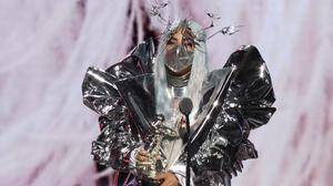 Lady Gaga dominated the MTV Video Music Awards, during a ceremony that focused heavily on the deadly impact of the coronavirus pandemic and the social unrest still erupting across the US (MTV/PA)