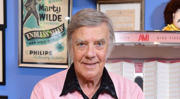 Marty Wilde at his home in Hertfordshire to celebrate the release of his new album (Ian West/PA)