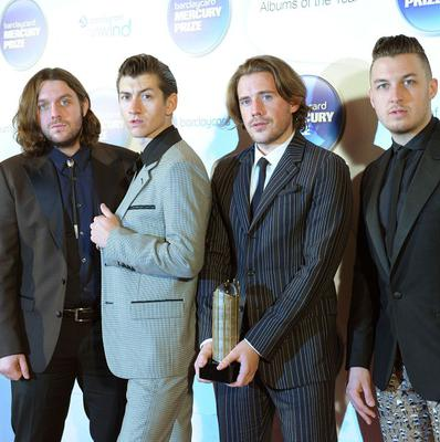 Arctic Monkeys were winners at the Fly Awards