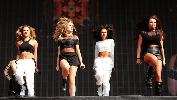 Little Mix at British Summer Time in 2014 (Ian West/PA)