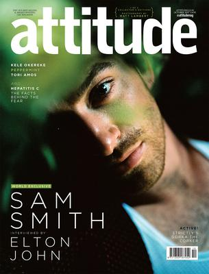 Sam Smith on the cover of October's Attitude Magazine