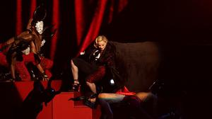 Madonna is heading back on the road following her recent slip-up at the Brits