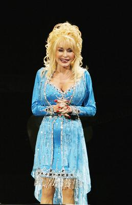 Dolly Parton wrote I Will Always Love You (Sue Moore/PA)