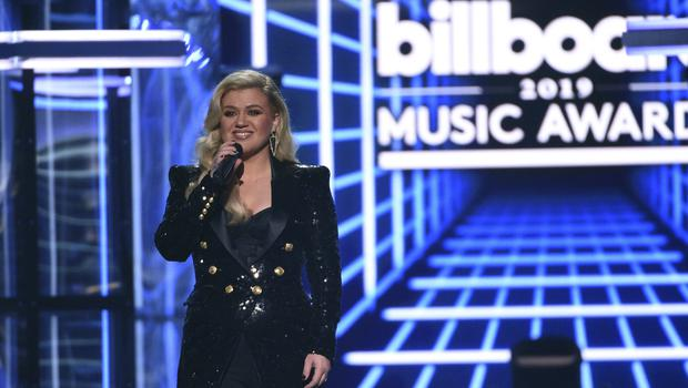 Kelly Clarkson was on presenting duties at the Billboard Music Awards (Chris Pizzello/Invision/AP)