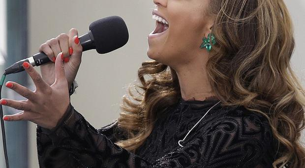 Beyonce says she did lip-sync at the swearing-in ceremony for President Barack Obama (AP)