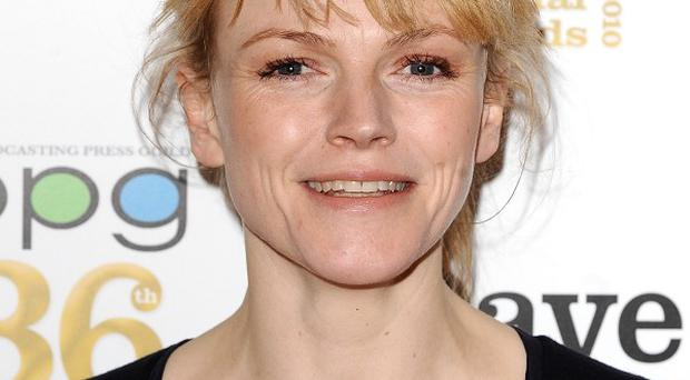 Maxine Peake was apparently learning the drums for an acting role