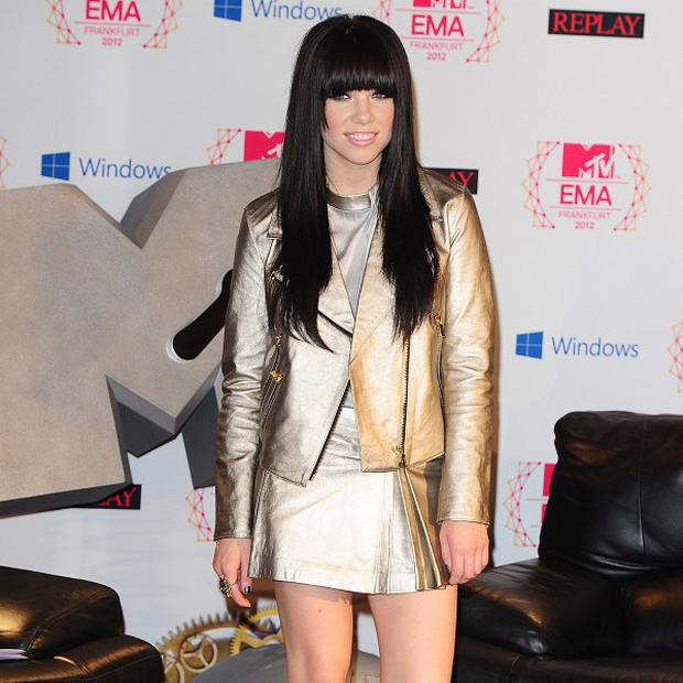 Carly Rae Jepsen is looking forward to getting dressed up for the Grammys