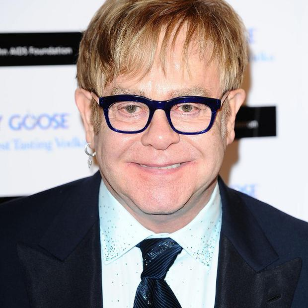 Sir Elton John teamed up with Queens Of The Stone Age