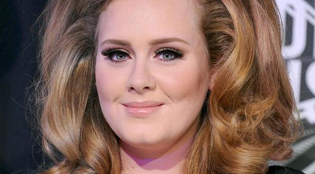 File photo dated 28/08/11 of singer Adele who will perform her hit Bond theme Skyfall at this year's Oscars - her first live performance since last year's Grammy Awards. PRESS ASSOCIATION Photo. Issue date: Friday December 21, 2012. The performance, in Los Angeles on February 24, will be the first time she has sung the song live on stage. Skyfall is in the running for the best original song award at this year's Oscars and is the first Bond song nominated since For Your Eyes Only in 1981. See PA story SHOWBIZ Adele. Photo credit should read: PA Wire