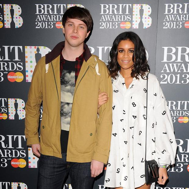 AlunaGeorge are at number two in the singles chart thanks to their collaboration with Disclosure