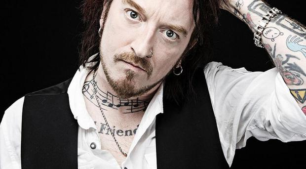 Ginger Wildheart's fan-funded album landed a spot in the mid-week top 10.