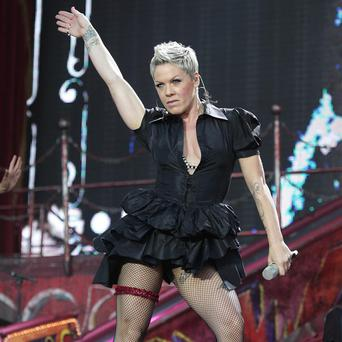 Pink is back on the road with a new world tour