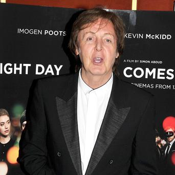 Sir Paul McCartney was one of the stars featured on the Hillsborough single