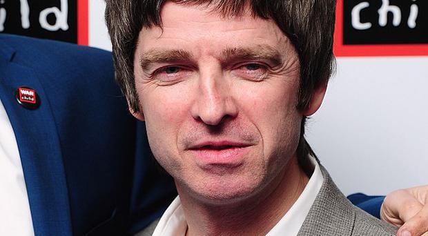 Noel Gallagher said he writes songs for a hobby, but can't be bothered to release them