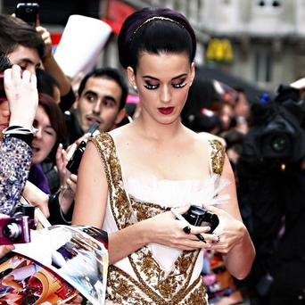 Katy Perry is reportedly planning an autobiography