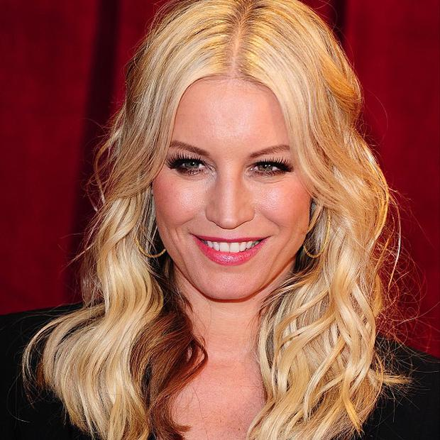 Denise Van Outen will be stepping in for a three-month stint each Saturday from March 30