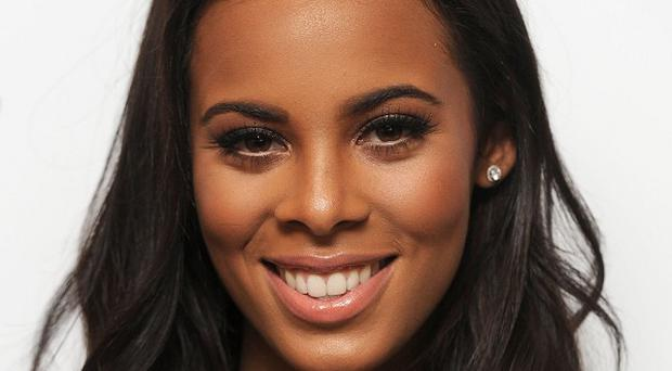 Rochelle Humes of The Saturdays thinks her baby will inherit its parents 'tall genes'
