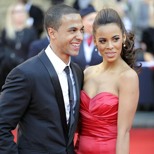 Marvin and Rochelle Humes are expecting their first child in May