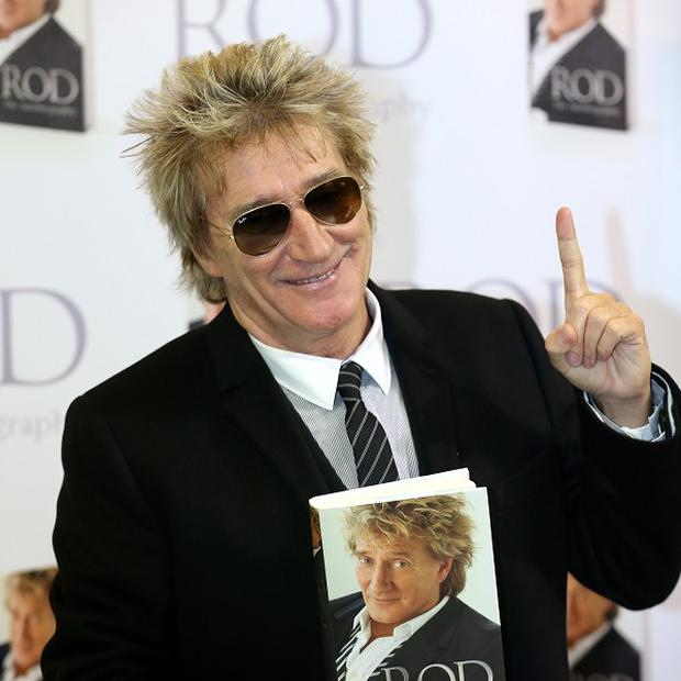 Rod Stewart said working on his book invigorated his desire for songwriting