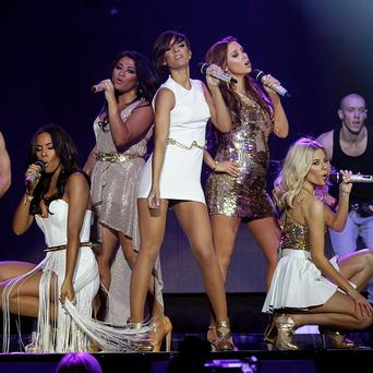 The Saturdays are number one in the UK singles chart with What About Us featuring Sean Paul