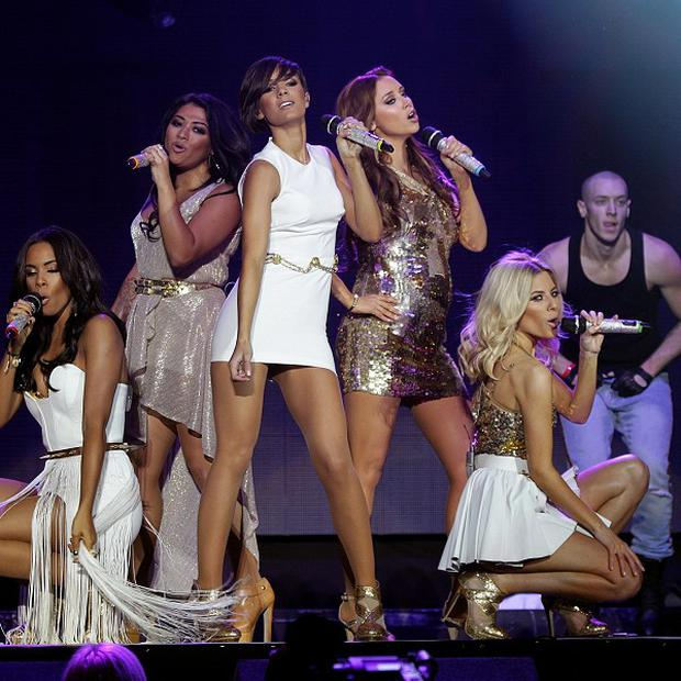 The Saturdays claimed their first number one single in their six-year career