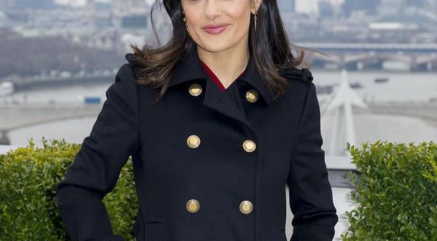 Salma Hayek helped launch Chime For Change, a global campaign for women's empowerment