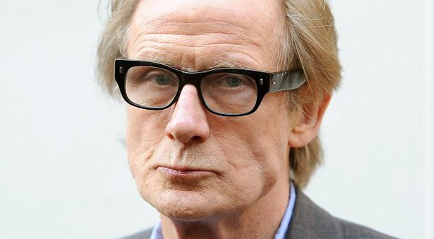 Bill Nighy voices one of the characters in the play