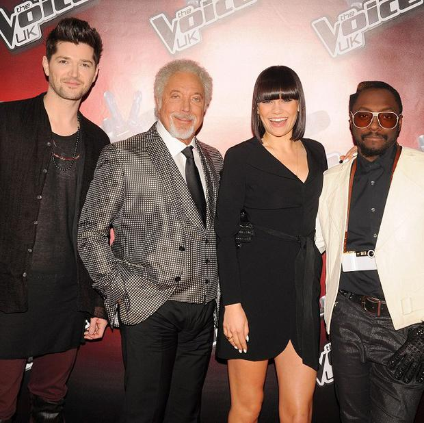 Sparks fly between the judges on The Voice during the auditions