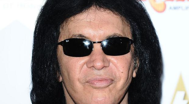 Gene Simmons has shown his support for the grand opening of a music academy