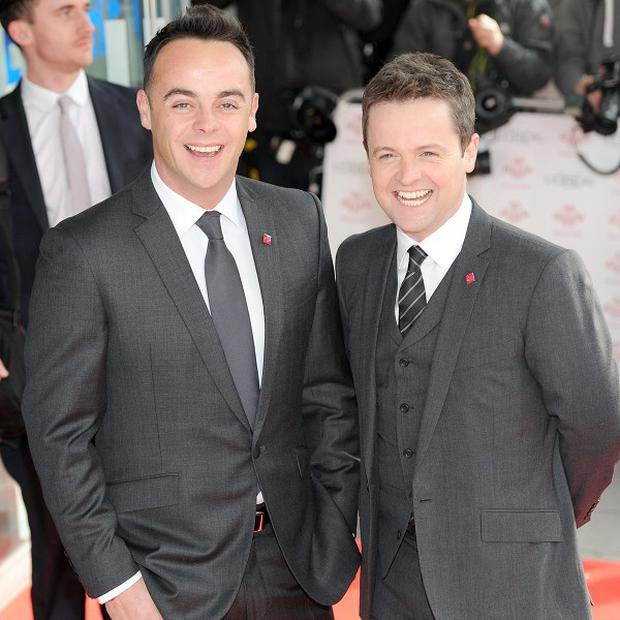 Ant and Dec are at number in the singles' chart with Let's Get Ready To Rhumble
