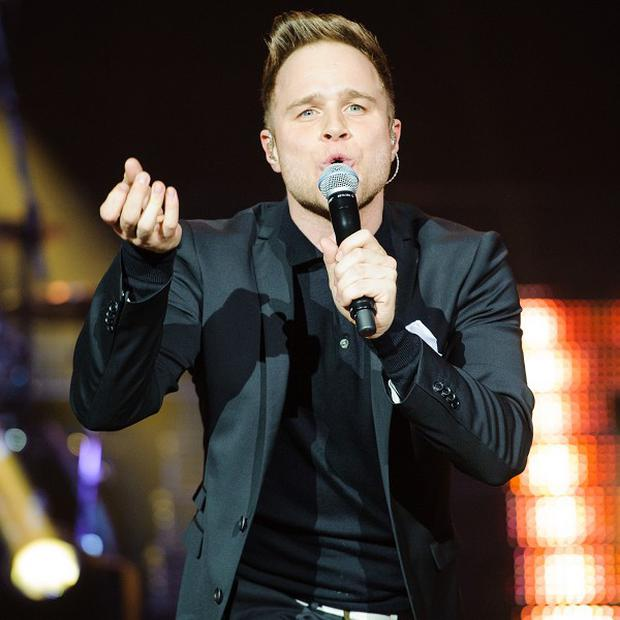 Olly Murs has said music comes first for him