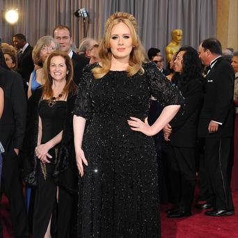 Adele is reportedly back in the recording studio