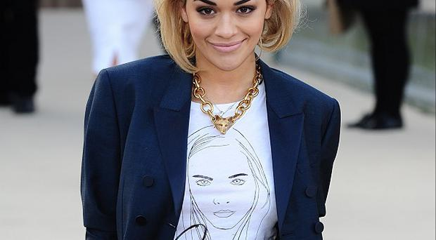 Rita Ora has admitted making her name in the music industry was a struggle at first