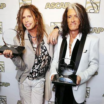 Steven Tyler and Joe Perry have been recognised for their songwriting skills