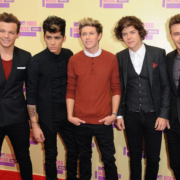 One Direction have each made five million pounds in the last year