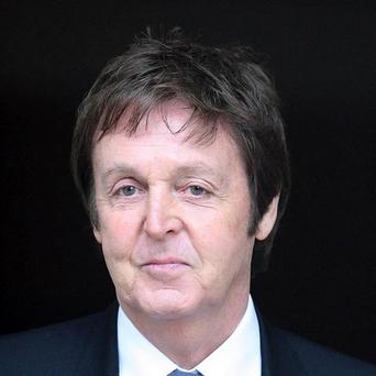 Sir Paul McCartney is top of the music rich list