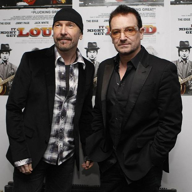 The Edge and Bono inspired Fray's Joe King when he toured with them