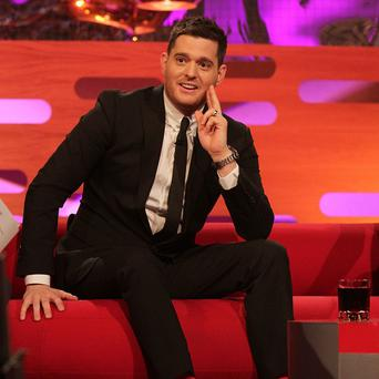 Michael Buble avoids having female members of his crew