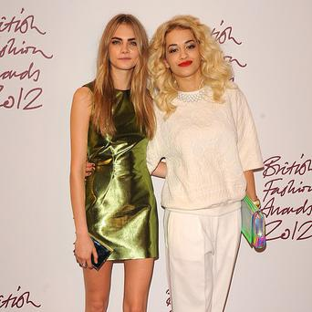 Rita Ora is apparently helping model pal Cara Delevingne with her music