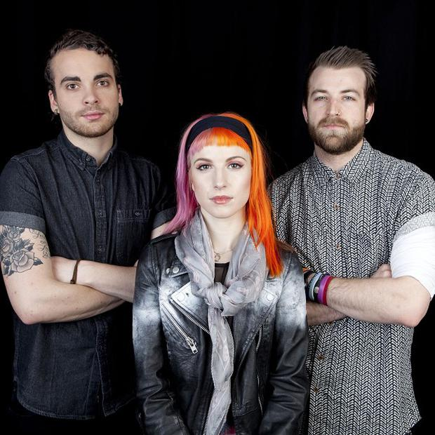 Paramore are delighted with their number one album
