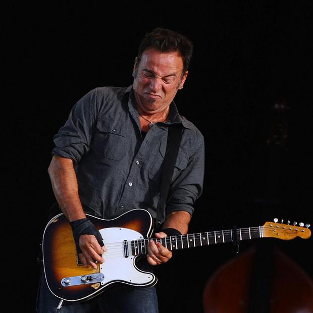 Bruce Springsteen will be performing at the Olympic Park